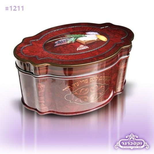 קופסא לאתרוג חום