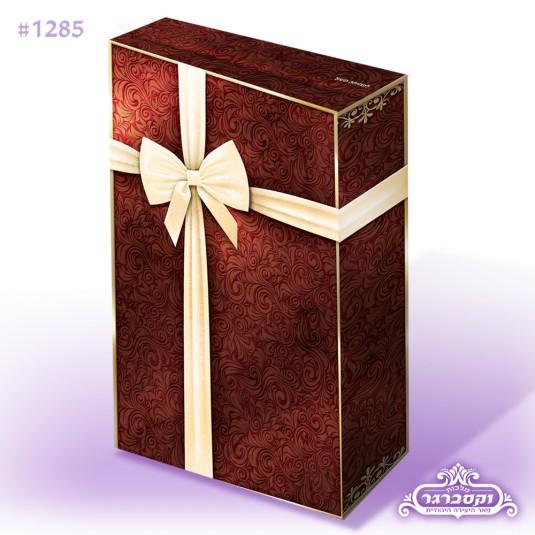 קופסא - מארז דגם קורנפלקס - צבע חום
