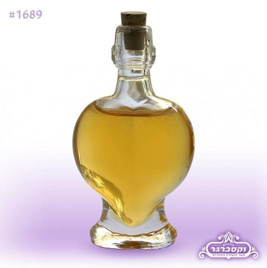 בקבוק דבש - דגם לב - 70 גרם