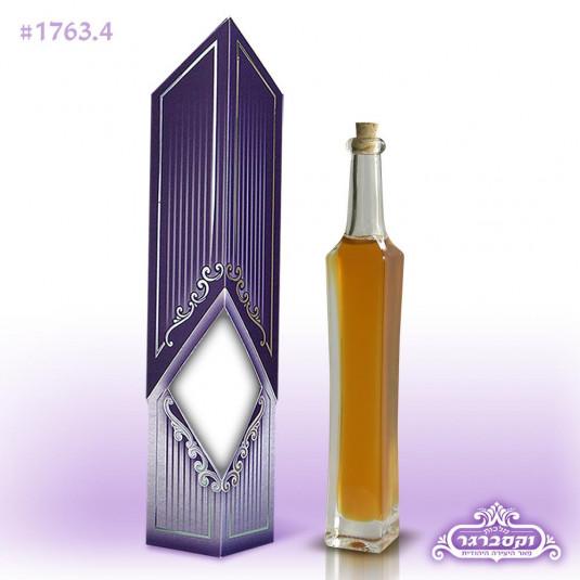 מארז יהלום עם דבש מרובע