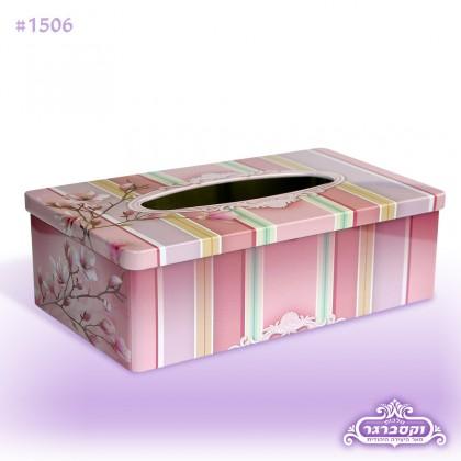 קופסא מתכת לטישיו - איריס