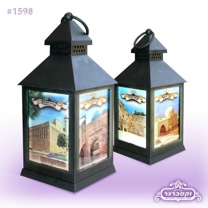 מנורה תלת מימד - מקומות הקדושים