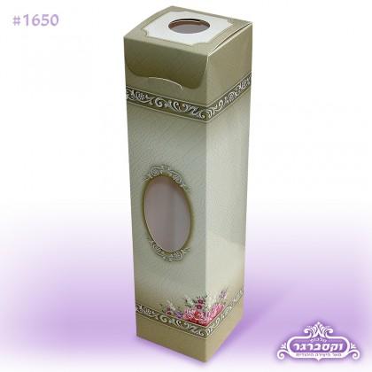 קופסא ומארז יחודי - דגם פרחים